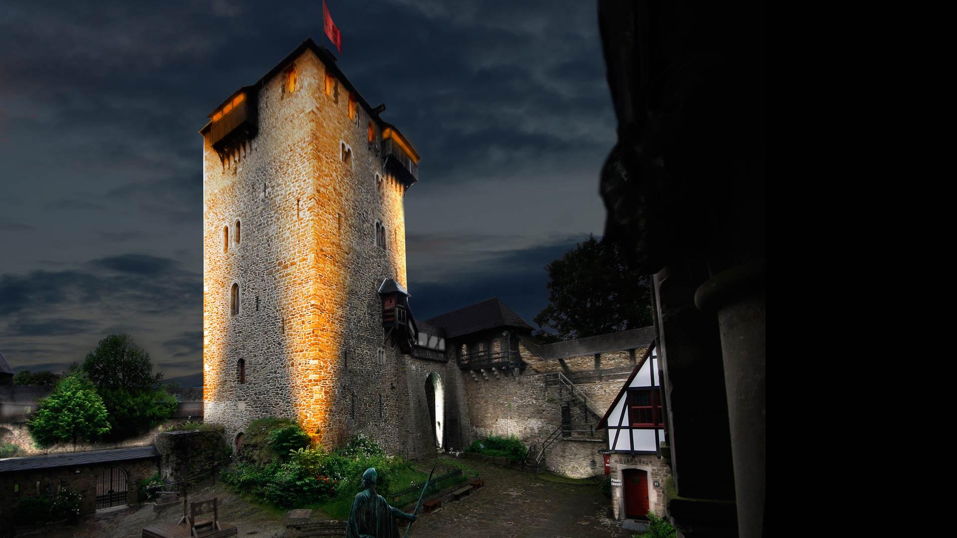 MAASS-Lichtplanung_Wettbewerbsbeitrag Lichtinszenierung Schloss Burg__MAASS-Licht-SchlossBurg-05