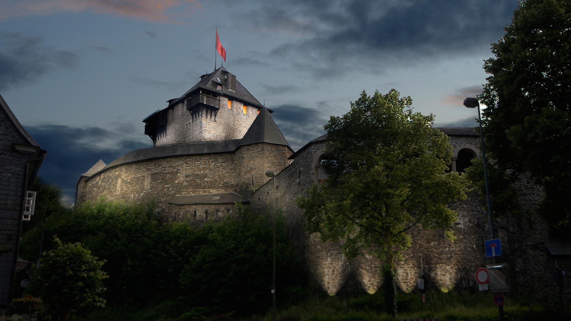 MAASS-Lichtplanung_Wettbewerbsbeitrag Lichtinszenierung Schloss Burg__MAASS-Licht-SchlossBurg-07