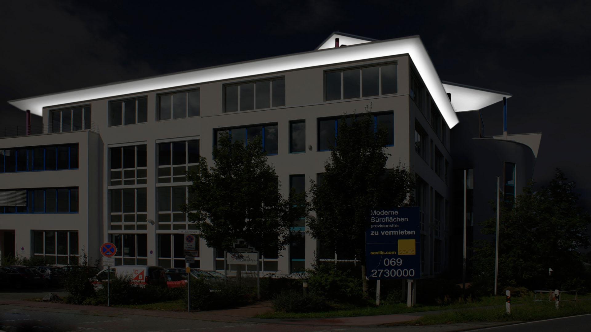 MAASS-Lichtplanung_Fassadenillumination in Darmstadt__MAASS-Leuschner-Park-005