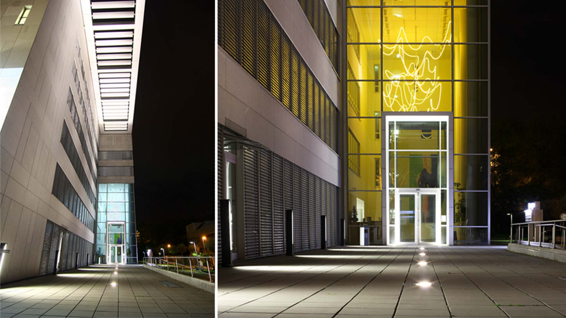 MAASS-Lichtplanung_Lichtplanung Bürogebäude__MAASS-Objektbeleuchtung-Eschborn-001
