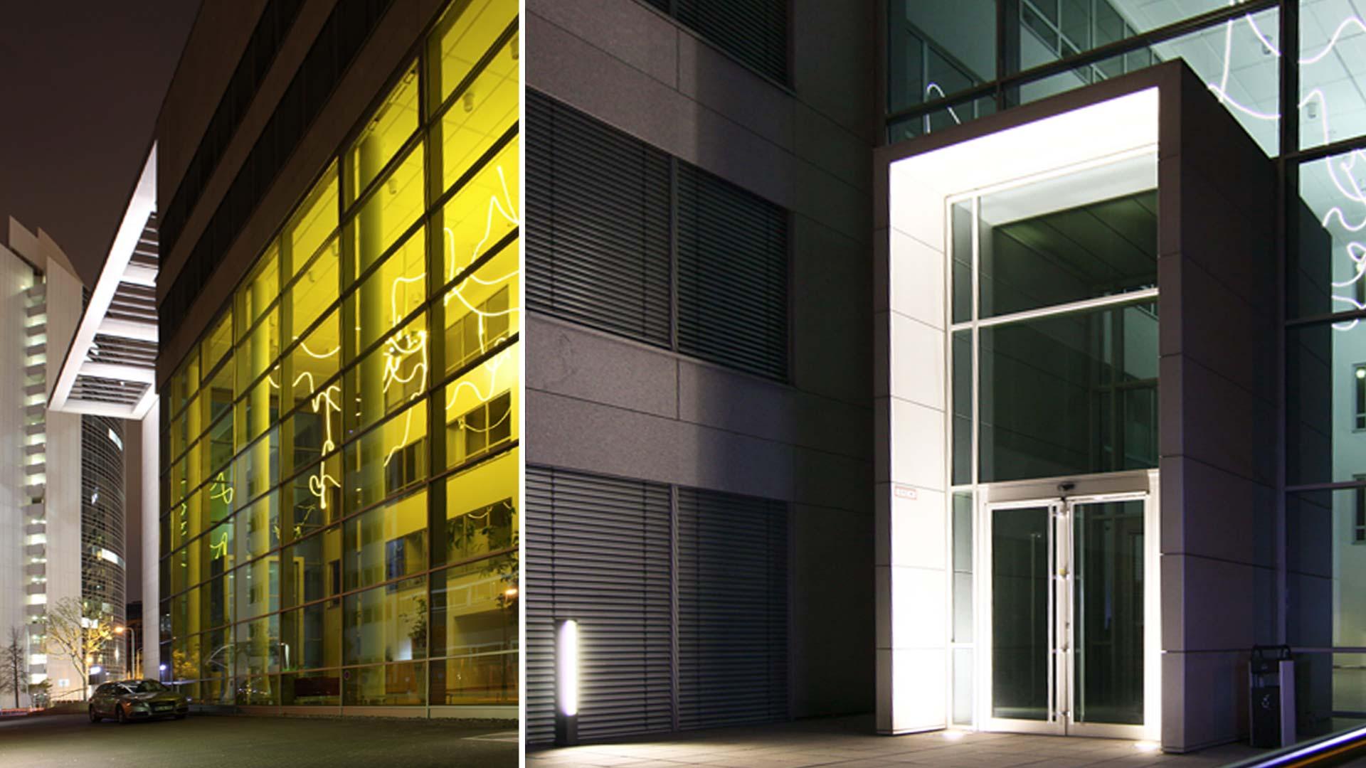 MAASS-Lichtplanung_Lichtplanung Bürogebäude__MAASS-Objektbeleuchtung-Eschborn-002