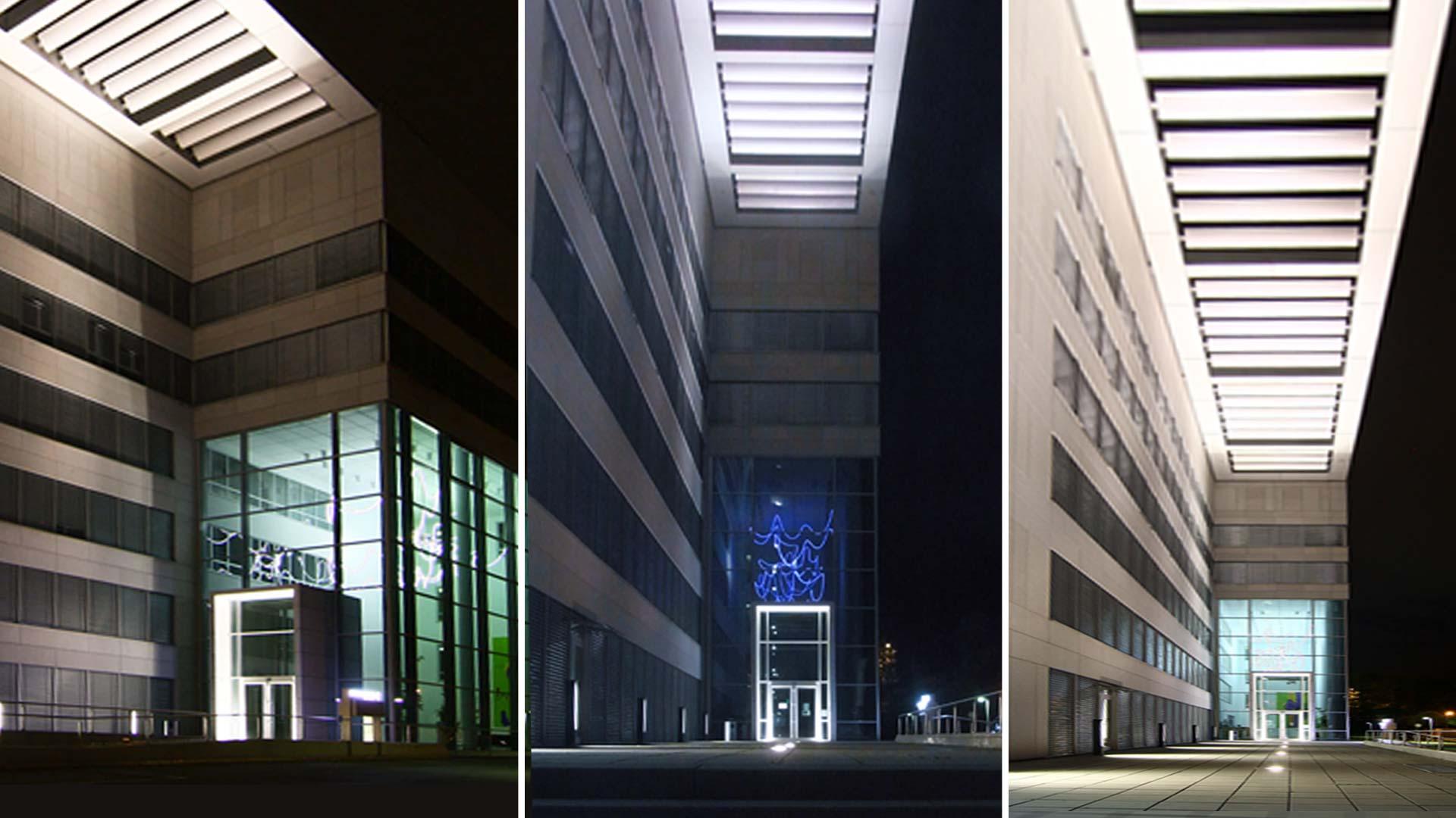 MAASS-Lichtplanung_Lichtplanung Bürogebäude__MAASS-Objektbeleuchtung-Eschborn-003