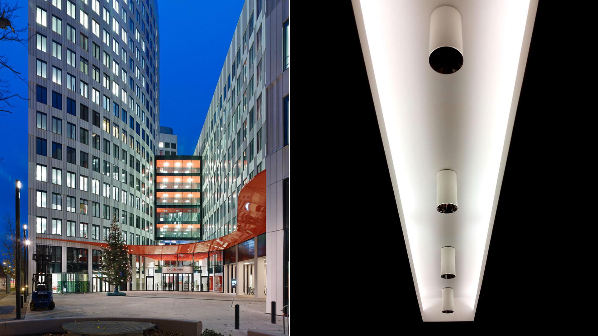 MAASS-Lichtplanung_Lichtplanung repräsentativer Bereiche der ING-DiBa Hauptzentrale__MAASS-Poseidonhaus-Innen-001