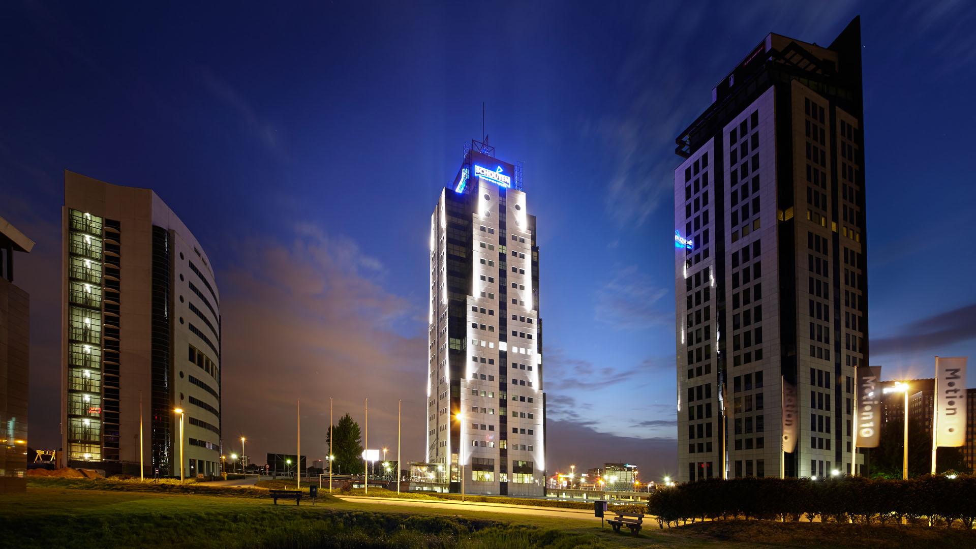 MAASS-Lichtplanung_Fassadenbeleuchtung in den Niederlanden__MAASS-Shouten-Toren-004