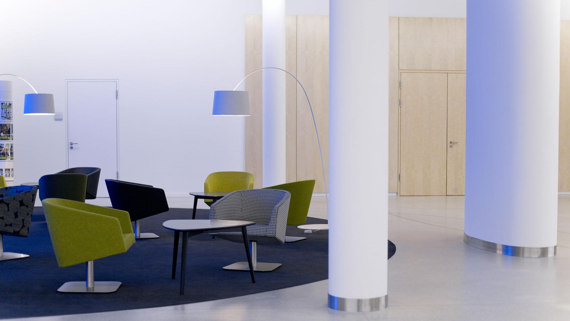 MAASS-Lichtplanung_Lichtplanung im Foyer der SEB Zentrale__MAASS-Skylight-Foyer-003