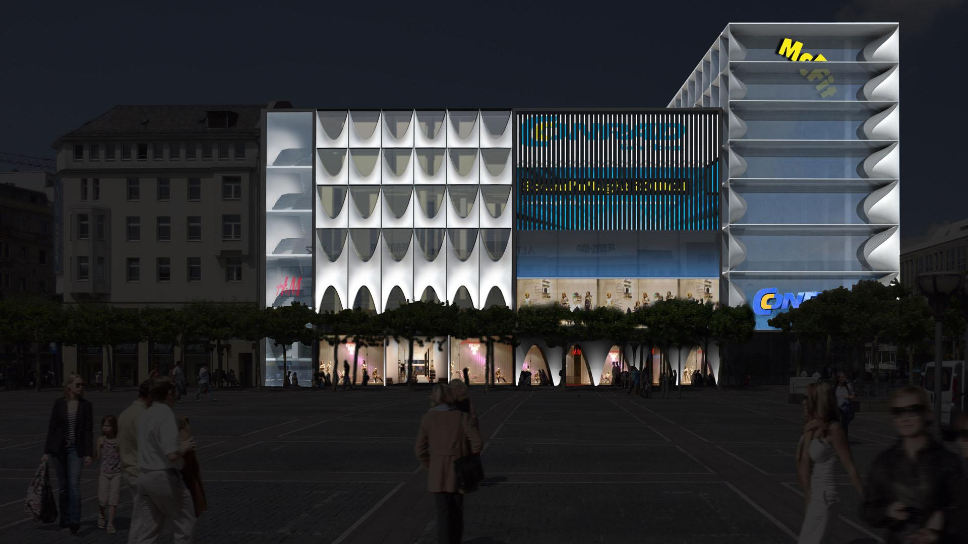 MAASS-Lichtplanung_Fassadenbeleuchtungskonzept für Frankfurter Geschäftshaus__MAASS-Zeil-004