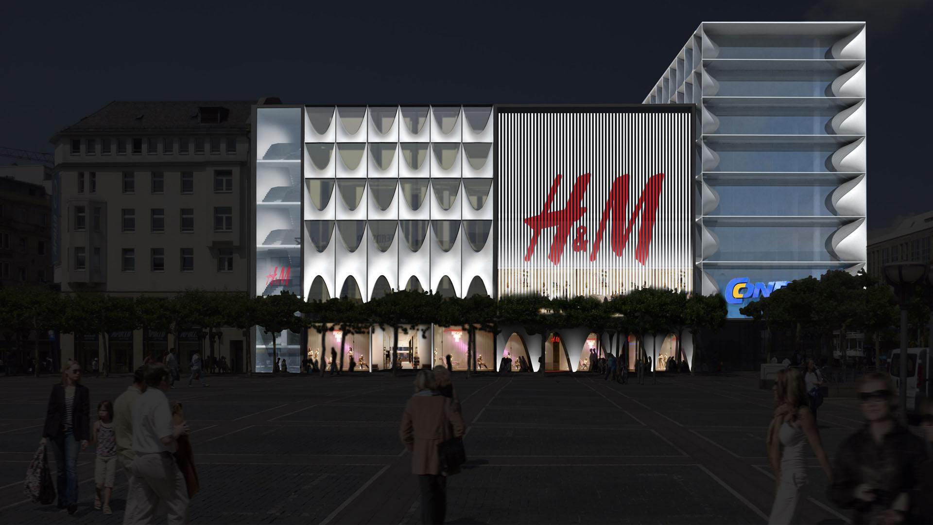 MAASS-Lichtplanung_Fassadenbeleuchtungskonzept für Frankfurter Geschäftshaus__MAASS-Zeil-005