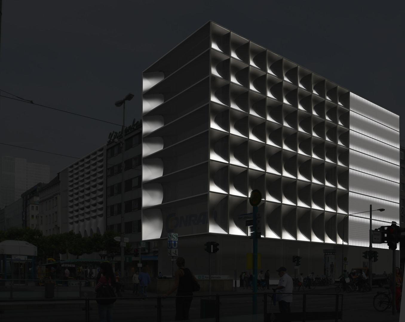 MAASS-Lichtplanung_Fassadenbeleuchtungskonzept für Frankfurter Geschäftshaus__MAASS-Zeil-006