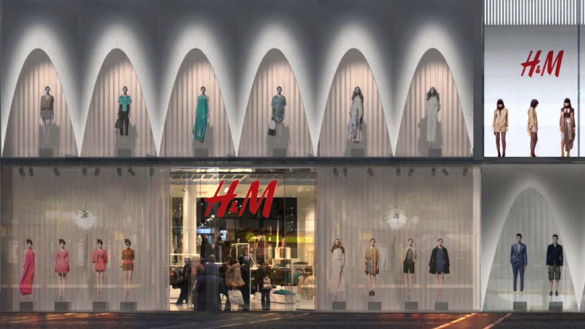 MAASS-Lichtplanung_Fassadenbeleuchtungskonzept für Frankfurter Geschäftshaus__MAASS-Zeil-008