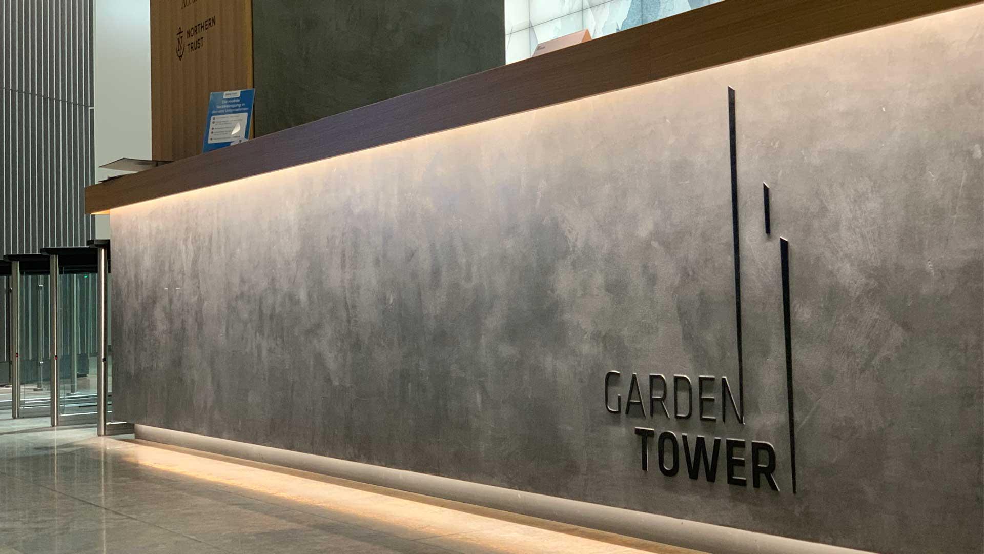 MAASS-Lichtplanung_Lichtplanung im Garden Tower__MAASS-Licht_Garden-Tower_Tresen